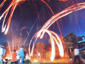 北山の火振り|日置市観光協会