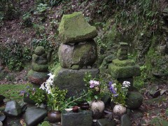 伊集院忠国公夫婦の墓碑を含む円福寺墓地群|日置市観光協会