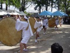 徳重大バラ太鼓踊り|日置市観光協会