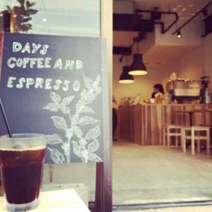 days coffee入口